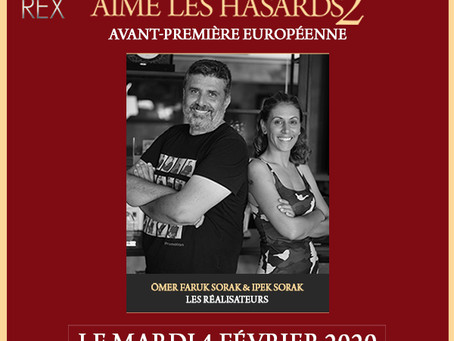 L'Amour Aime Les Hasards 2 | Avant-première au Grand Rex à Paris le 4/02 21h avec l'équipe du film
