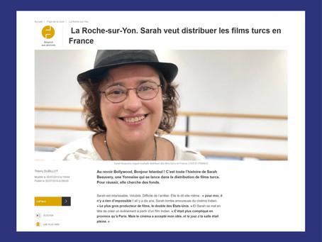 Interview dans Ouest France - 30 juillet 2019