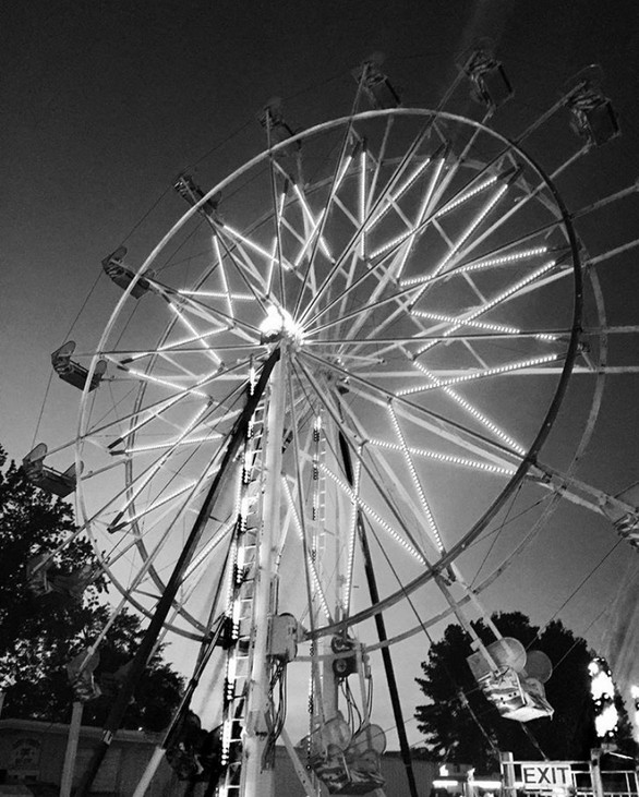 Ferris Wheel at the World Famous Armadillo Festival