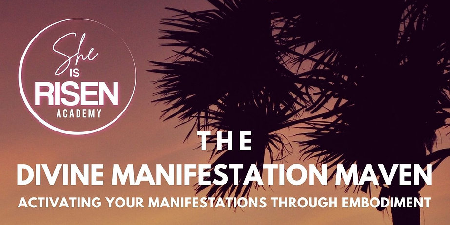 The Divine Manifetation Maven Header Ima