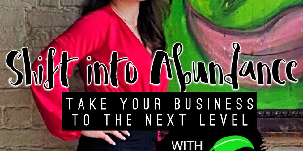 Shift into Abundance: Take your Business to the Next Level w/ Fonseca Nutrition and Zhanna Romm