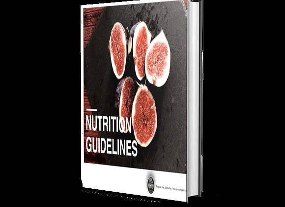 EBOOK - NUTRITION GUIDELINES