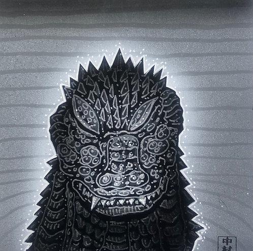 Godzilla Zen Garden Meditation