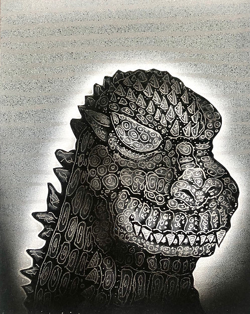 Godzilla Zen Meditation