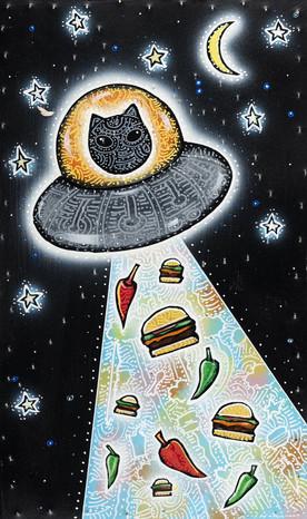 Bobcat Abducts Food
