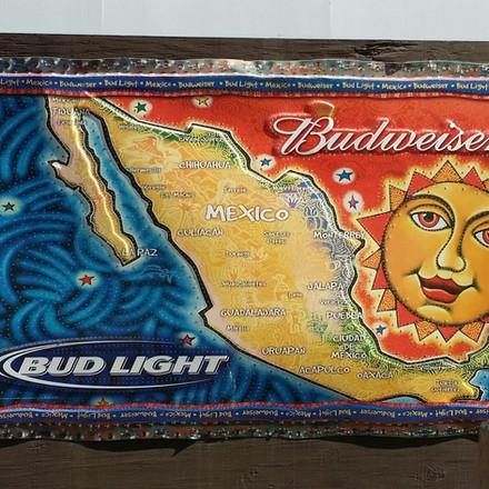 Budweiser map