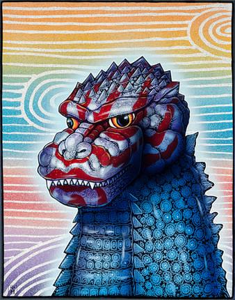 Kabuki Godzilla
