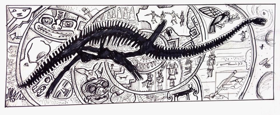 Sketch for Denver Museum
