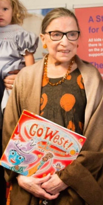 Go West! read by RBG