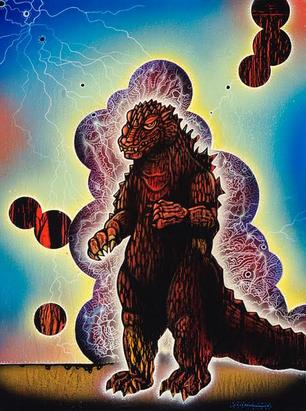Lava Godzilla