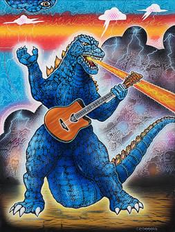 Godzilla Rock #1