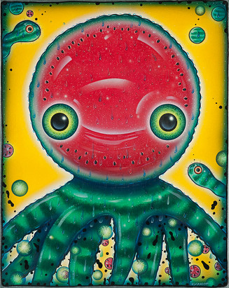 Watermelon Octopus