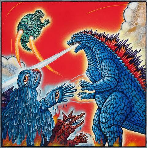 Fire Waza Godzilla
