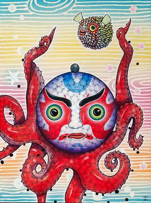 Kabuki Octopus