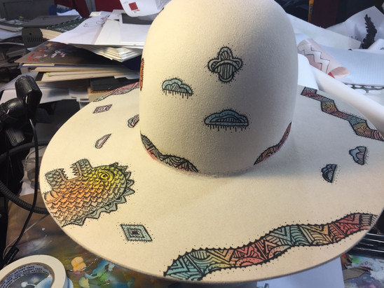 Painted Hat