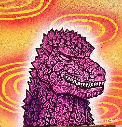 Godzilla Color Frequency Meditation
