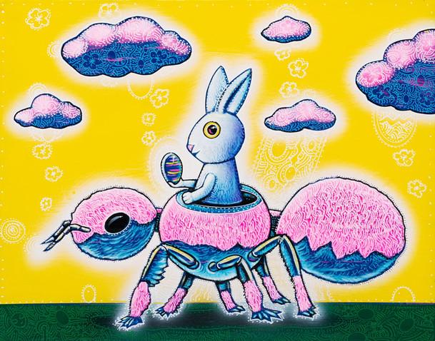 Pink Velvet Ant