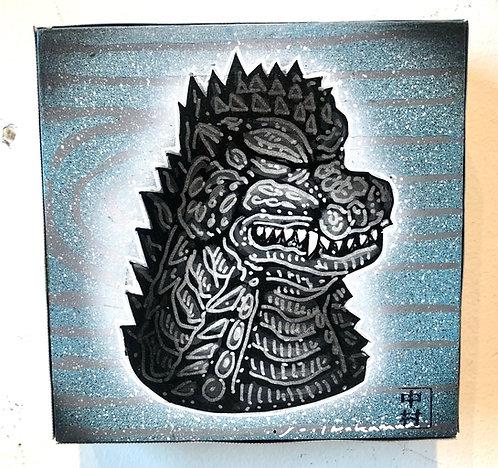 Mini Godzilla Meditation