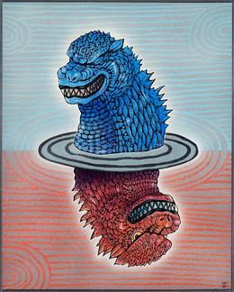 Yin and Yang Godzillas