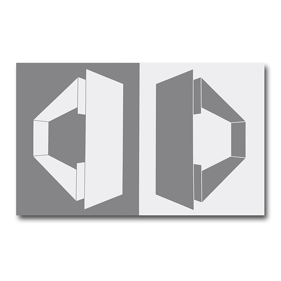 Gray / White