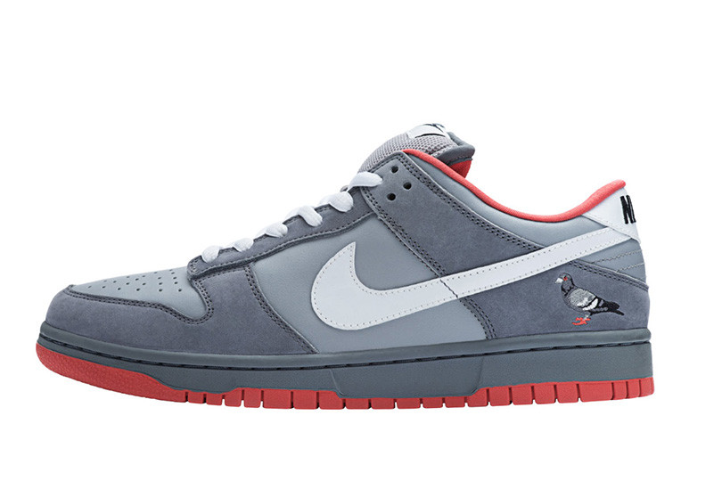 "The Nike SB Dunk Low ""Pigeon NYC"""