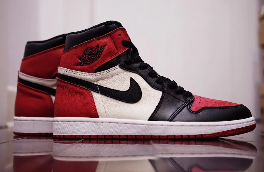 "The Jordan 1 ""Bred Toe"" is set to release in February, amongst much excitement."