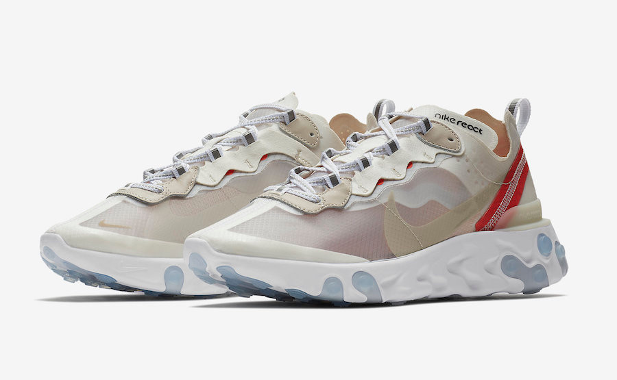 The Nike React Element 87, one of July's most anticipated releases.