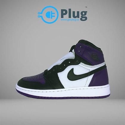 """Air Jordan 1 Retro High """"Court Purple"""""""