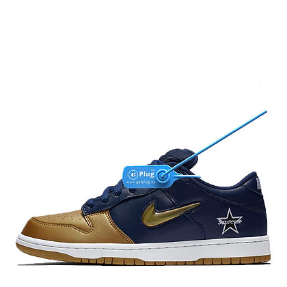 "Supreme X Nike SB Dunk Low ""Navy"""