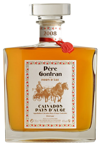 Calvados hors d'âge millésime 2008 coffret luxe