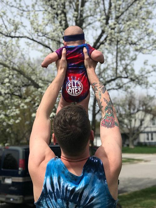Eli's Dyes Baby Onsie