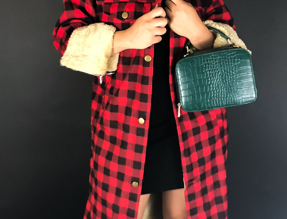 """LumberJill"" Long Line Jacket"