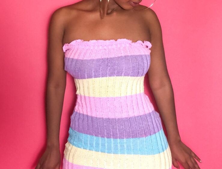 """"""" Summatime Fine"""" Mini Dress"""