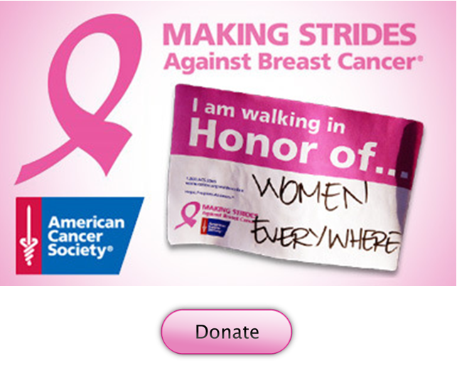 Making strides donate walk