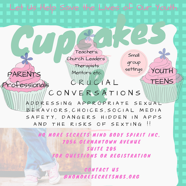Cupcakes and conversations flyer youth.p