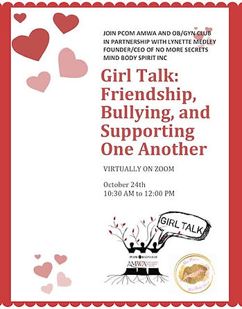 Girls Talk- Friendship, Bullying and Sup