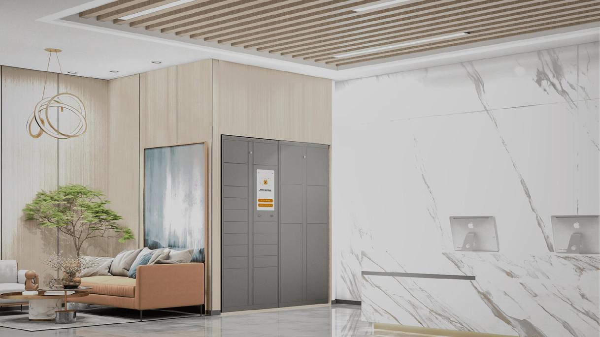Smart Locker Lobby