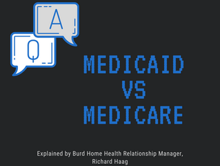 What is the difference between Medicaid & Medicare?