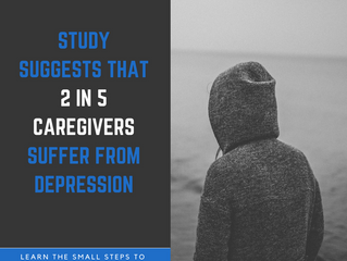 Study suggests that 2 in 5 caregivers suffer from depression