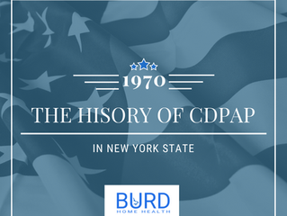The History of CDPAP in New York