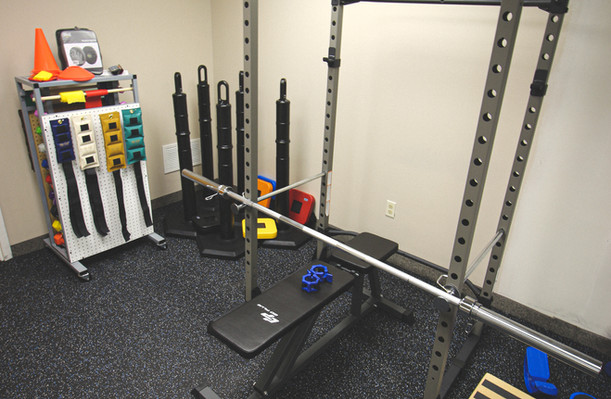 Burd Physical Therapy Squat Rack