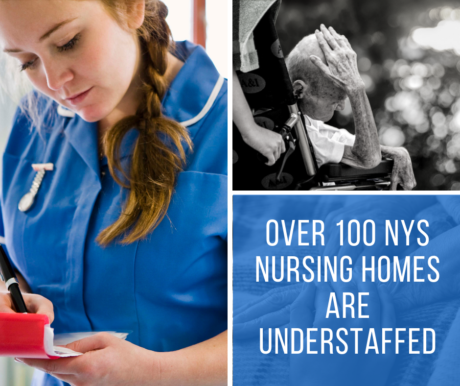 Over 100 Nursing Homes in NYS are Understaffed