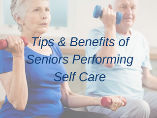 How to encourage seniors or ill relatives to perform self-care: tips for caregivers