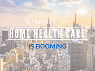 The market for home health care is booming