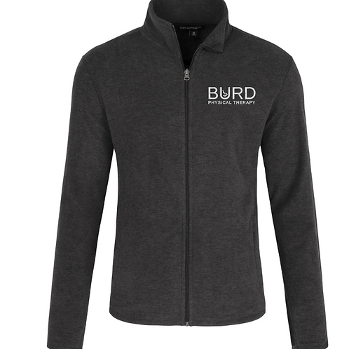 Men's Port Authority® Heather Microfleece Full-Zip Jacket