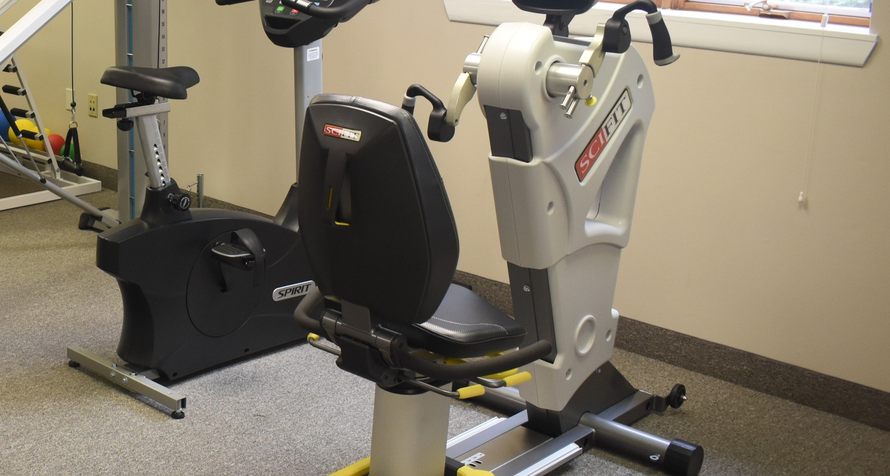 Recumbant Bike Upper Body - Burd Physical Therapy