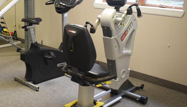 Recumbant Bike Upper Body - Burd Physical Therapy