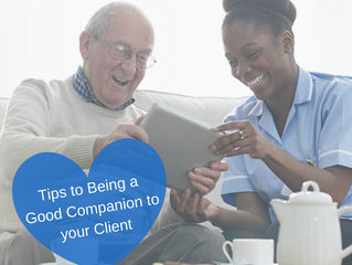 How to be a great companion to your client