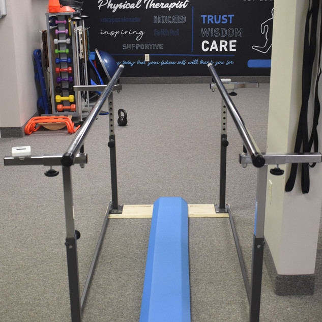 Burd Physical Therapy Folding Parallel Bars