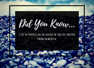 1 In 10 Adults 65 or Older in the US Suffer from Dementia